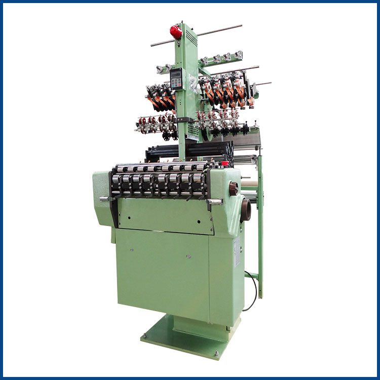 NF8/27 High adaptability 8 tapes 27 width of reed elastic belts weaving machine
