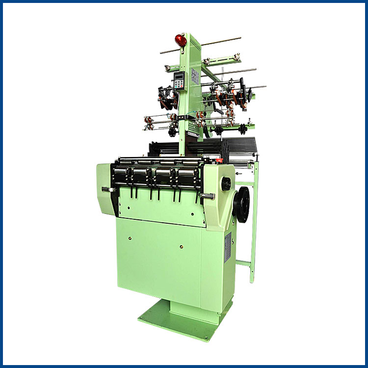 NF4/66 Flat 4 tapes 66 reed width elastic tape making machine