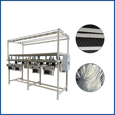 16 Spindles Elastic Ear Loop Knitting Machine For Face Mask