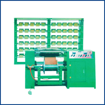Steam Driven Elastic Rubber Warping Machine