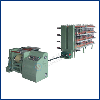 High Speed Latex and Spandex Sectional Warping Machine