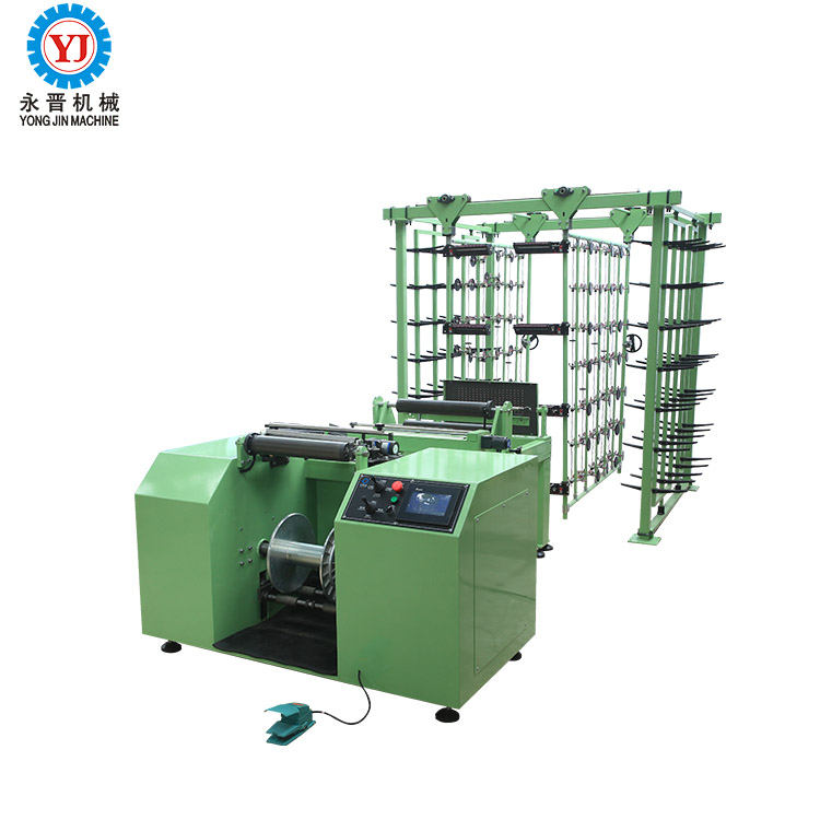 High Speed Air Pressure Warping Machine and Convertible Yarn Creel For